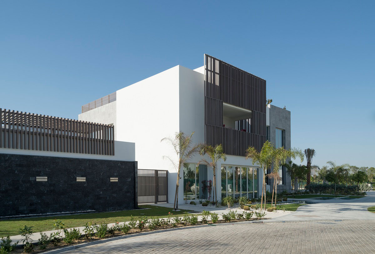 Driveway, The Reserve, Luxury Villas in Al Barari, Dubai