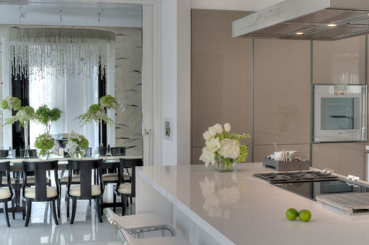 Kitchen, Island, The Reserve, Luxury Villas in Al Barari, Dubai