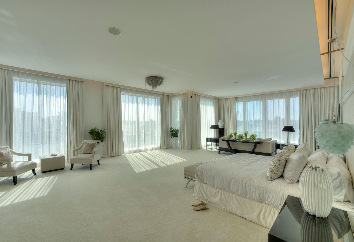 large bedroom the reserve luxury villas in al barari dubai
