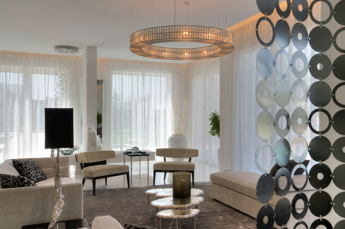 Coffee Table, Sofas, The Reserve, Luxury Villas in Al Barari, Dubai