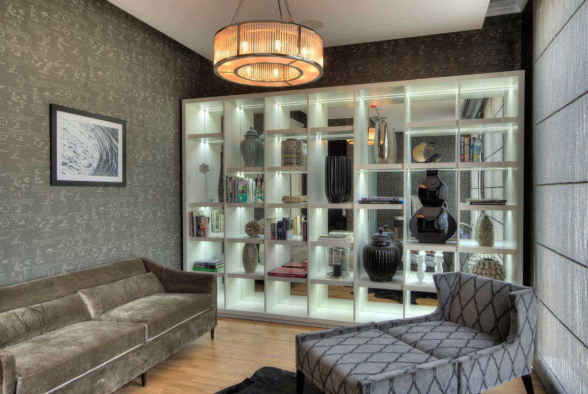 Shelves, Lighting, The Reserve, Luxury Villas in Al Barari, Dubai
