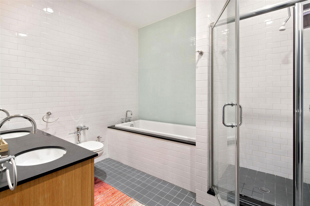 Bathroom, Stylish Apartment in New York City