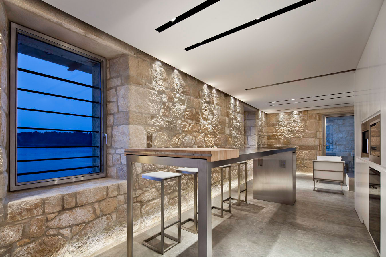 Bar, Renovation of an 18th Century Building in Rovinj, Croatia