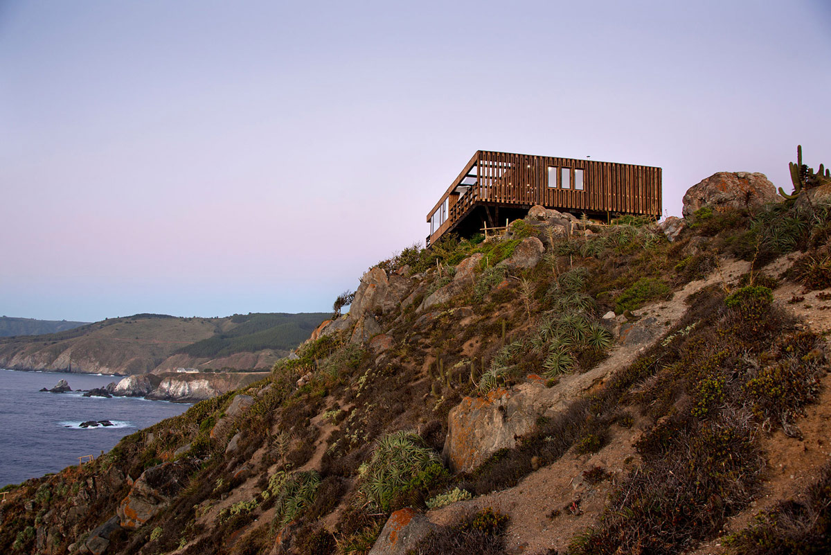 Amazing Views, Clifftop Home with Panoramic Ocean Views in Tunquén, Chile