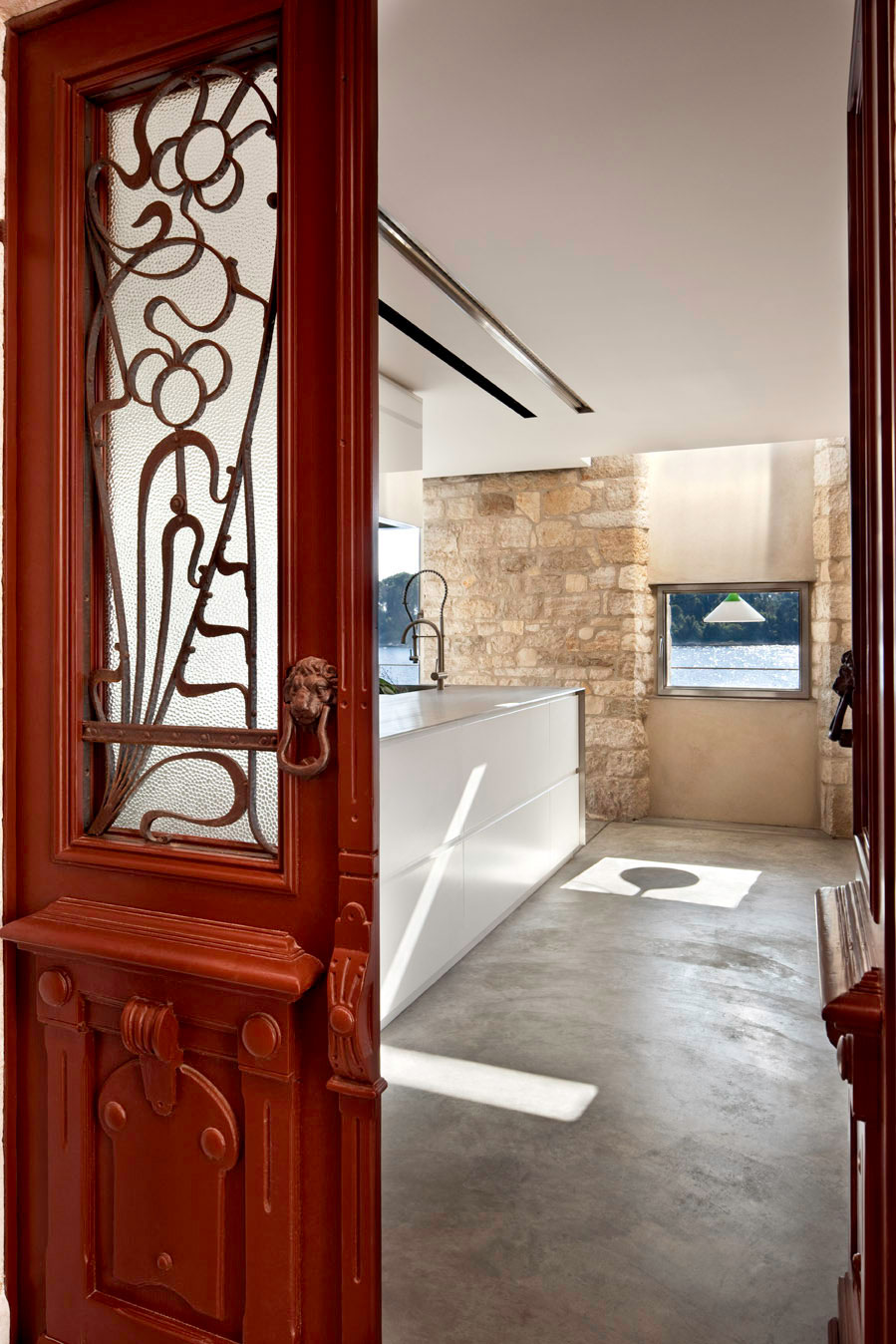 Entrance, Renovation of an 18th Century Building in Rovinj, Croatia