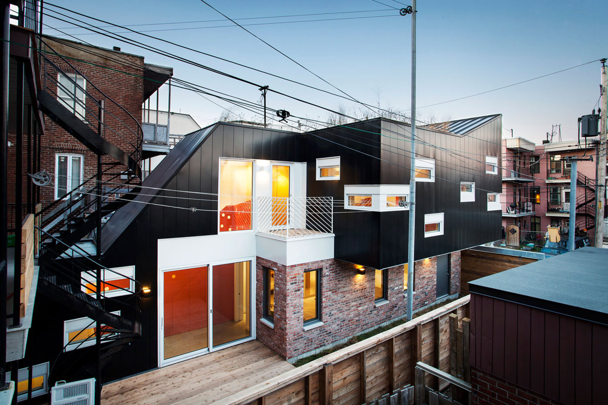 Contemporary Extension in Rosemont-Petite-Patrie, Canada