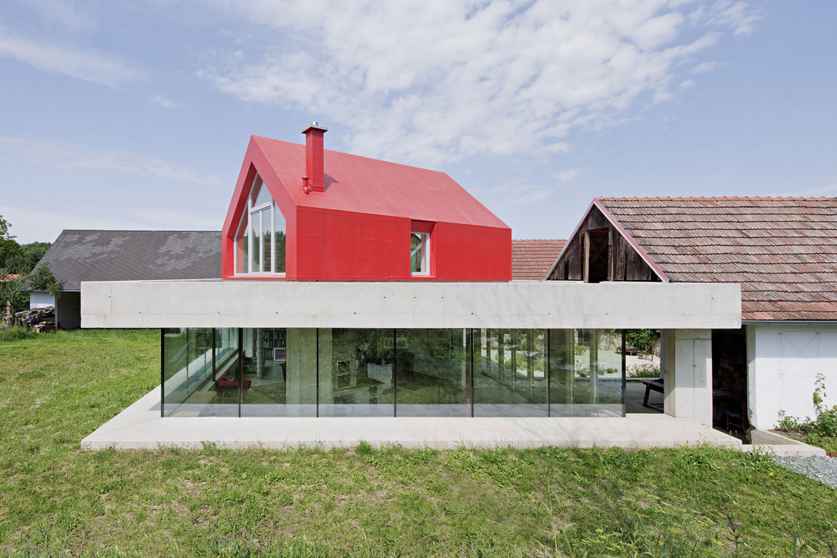Old Farm House Renovation And Expansion In Burgenland Austria