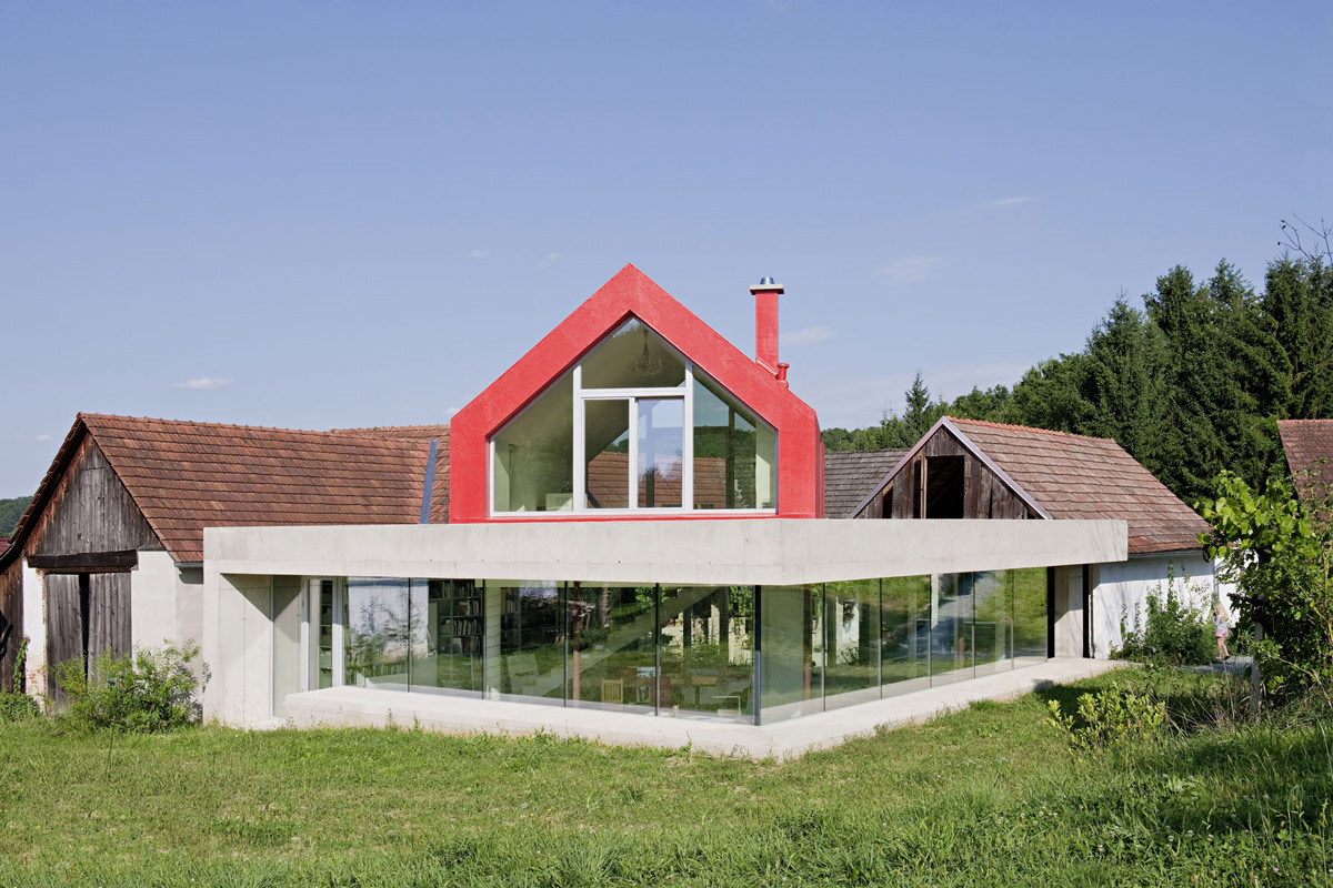 Old Farm House Renovation and Expansion in Burgenland, Austria