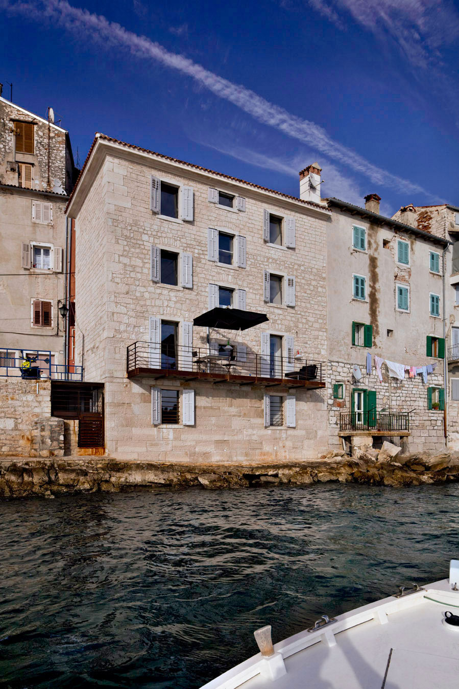 View from the Water, Renovation of an 18th Century Building in Rovinj, Croatia