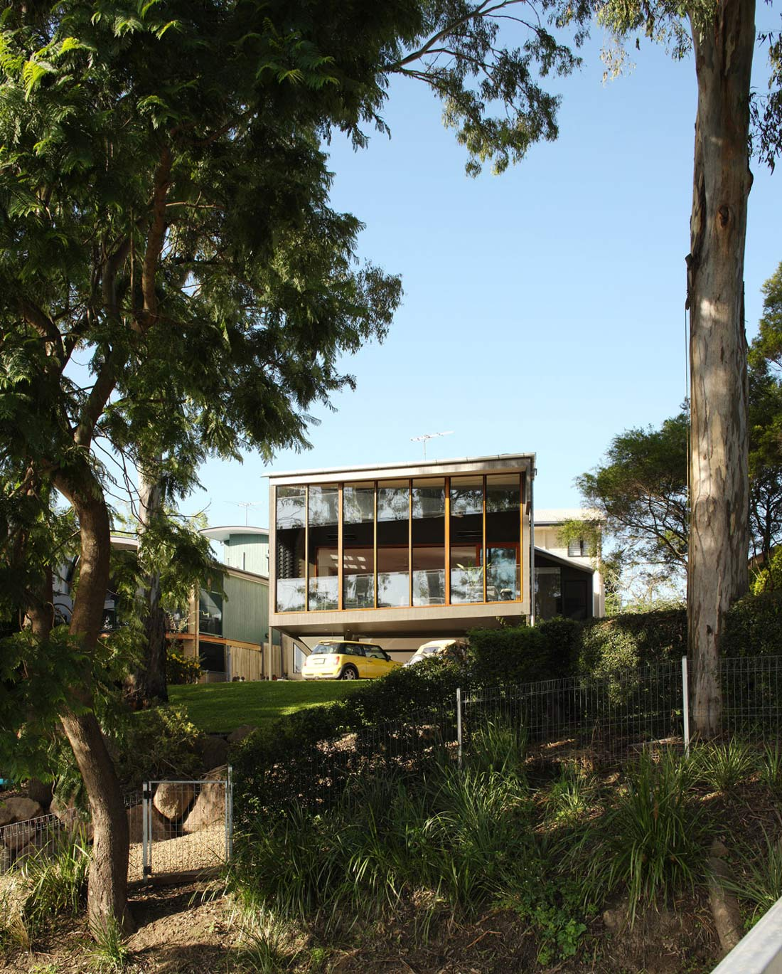 Glass Walls, Renovation and Extension in Chelmer, Brisbane