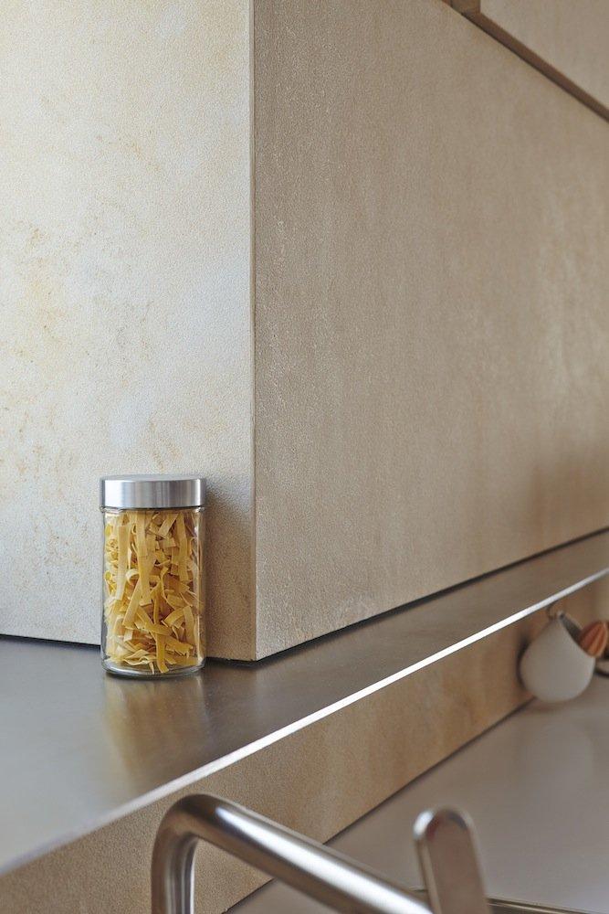 Kitchen Detail, Riverside Apartment in Bratislava, Slovakia