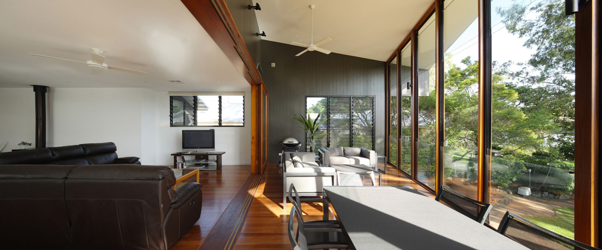 Living Space, Balcony, Renovation and Extension in Chelmer, Brisbane