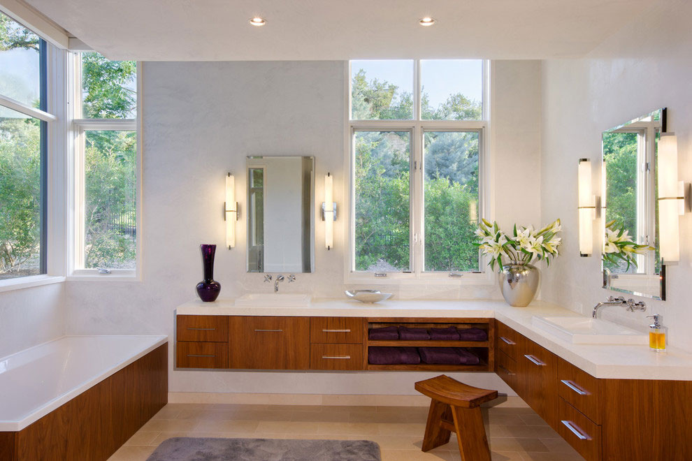 Bathroom, Gorgeous Modern Home in Austin, Texas