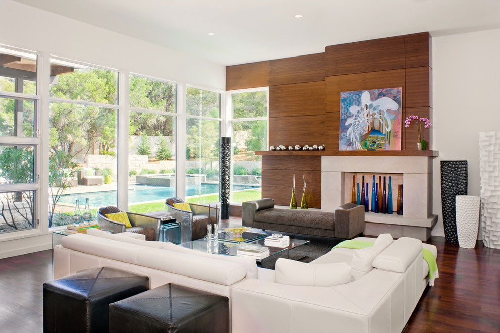 Glass Walls, Gorgeous Modern Home in Austin, Texas