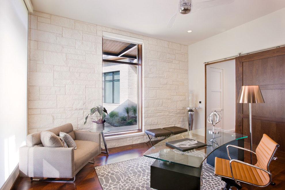 Home Office, Gorgeous Modern Home in Austin, Texas
