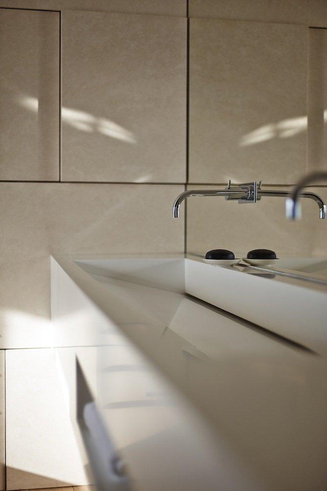 Modern Sink, Riverside Apartment in Bratislava, Slovakia