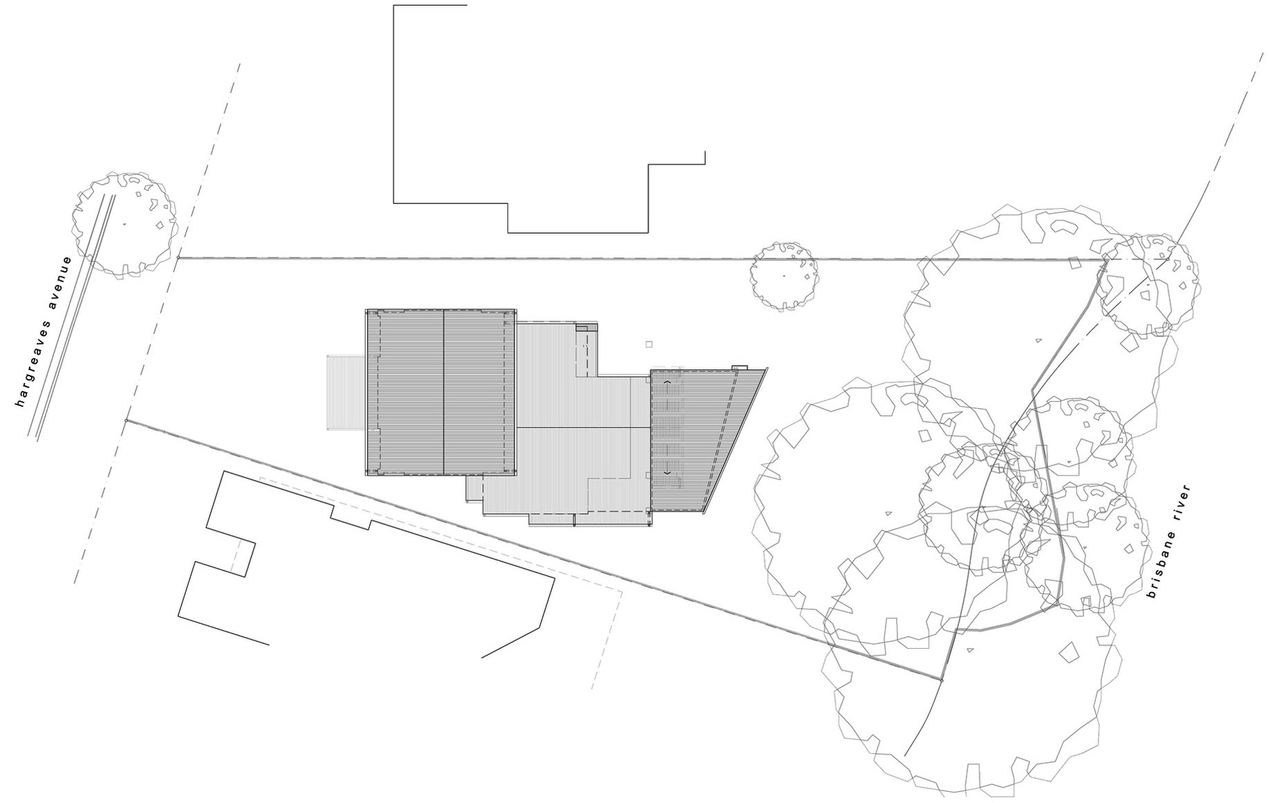 Site Plan, Renovation and Extension in Chelmer, Brisbane