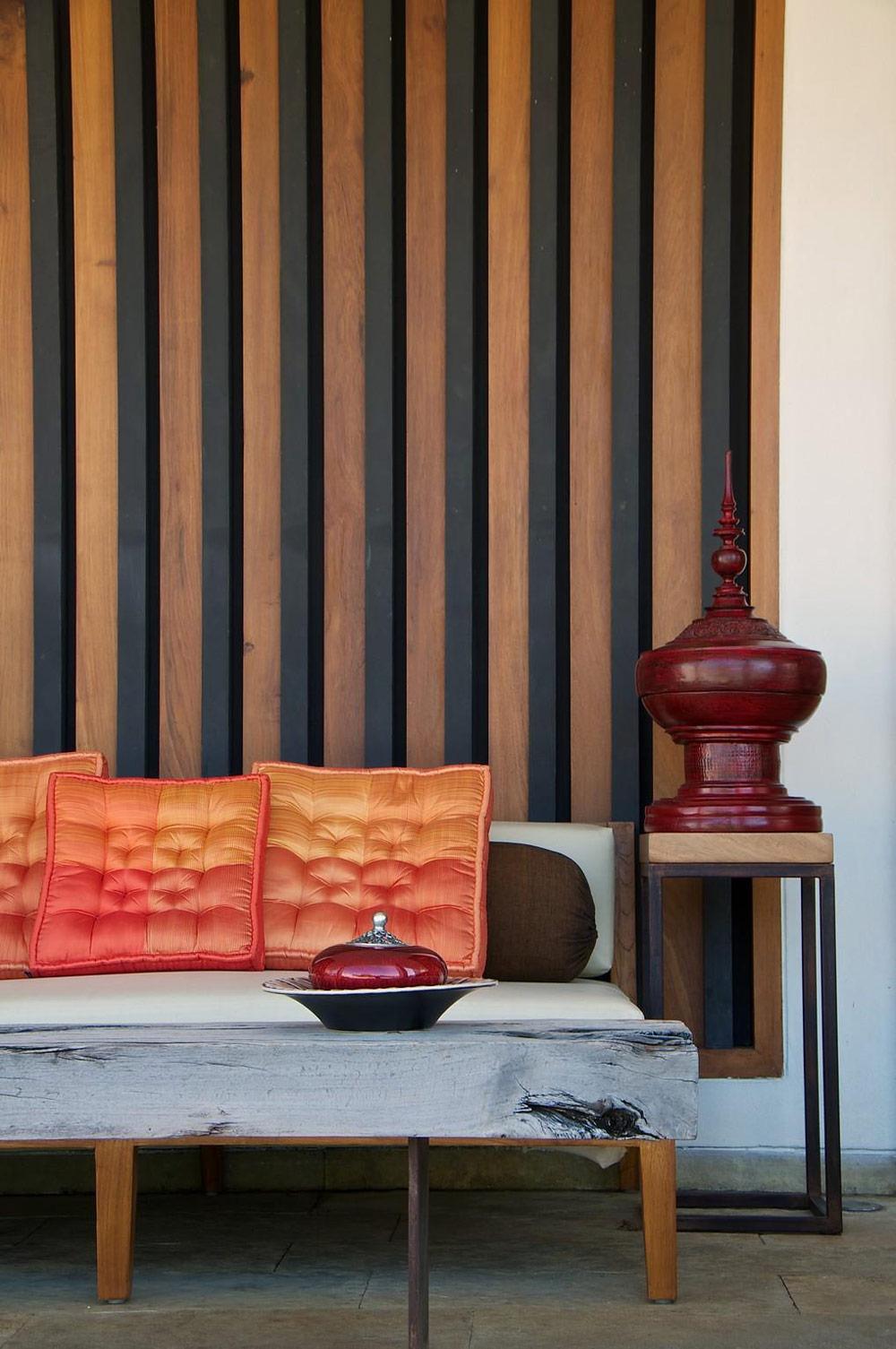 Sofa, Table, Anish Amin House in Alibaug, India
