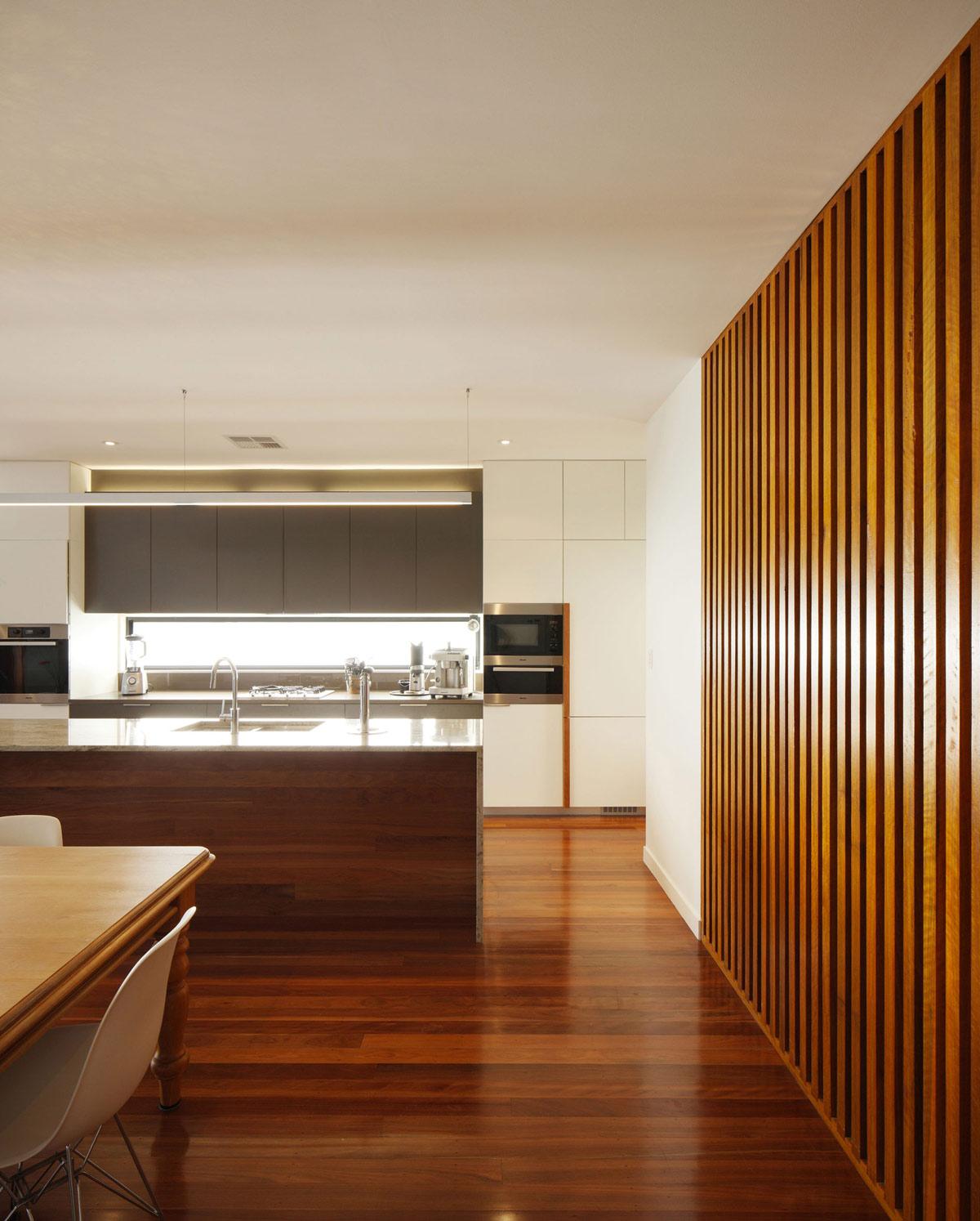 Wood Flooring, Walls, Modern Kitchen, Renovation and Extension in Chelmer, Brisbane