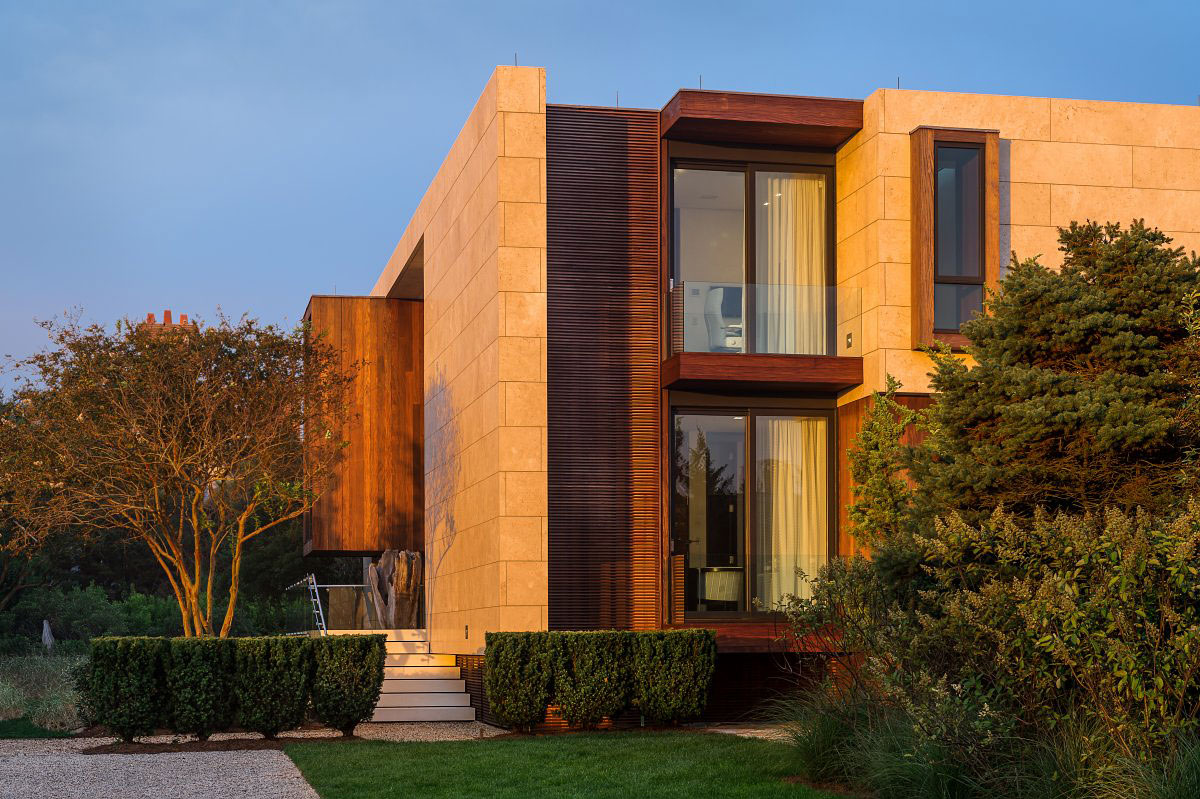 Architecture, Oceanfront Home in Sagaponack, New York