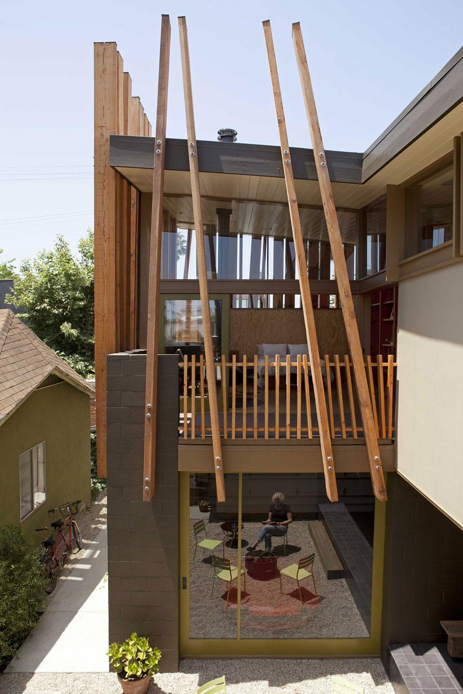 Balcony, Patio Door, Terrace, Wonderful Renovation and Addition in Venice, California