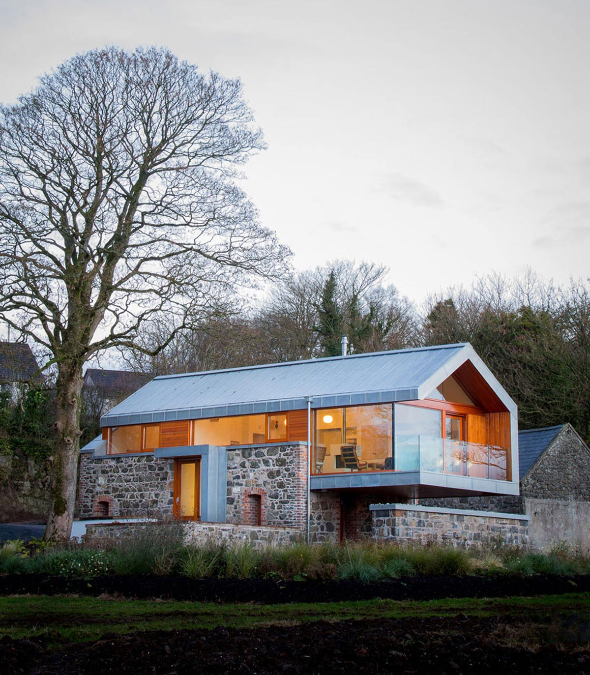Barn conversion in broughshane northern ireland for Office design northern ireland