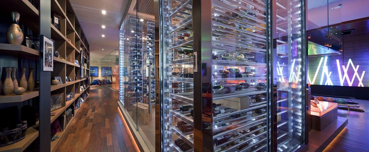 Basement Games Room Bar Wine Room Massive Modern Home