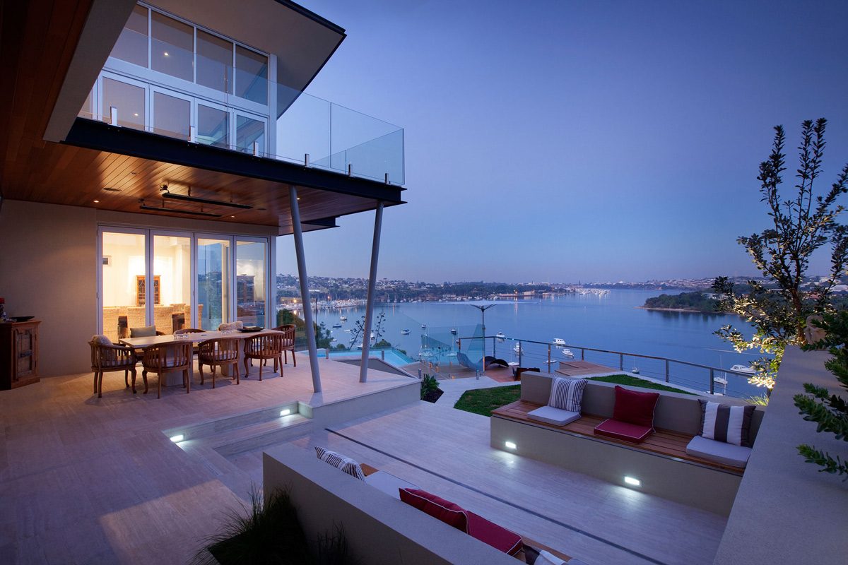 Beautiful River Views, Terrace, Stunning Riverside Home in Perth, Australia