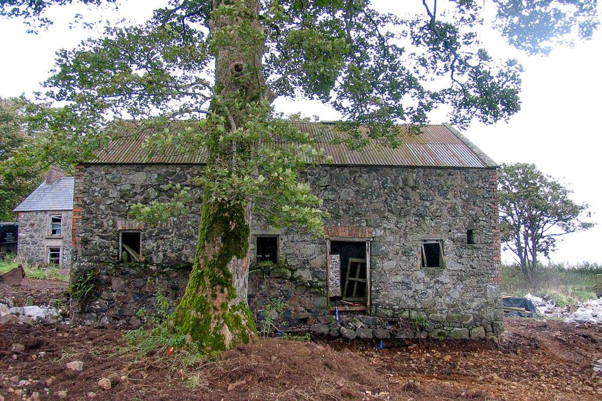 Before, Barn Conversion in Broughshane, Northern Ireland