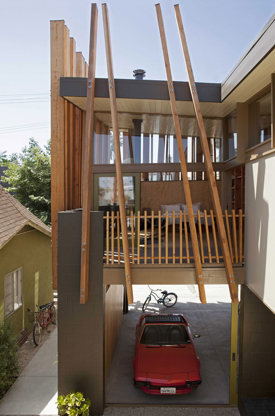 Car Port, Wonderful Renovation and Addition in Venice, California