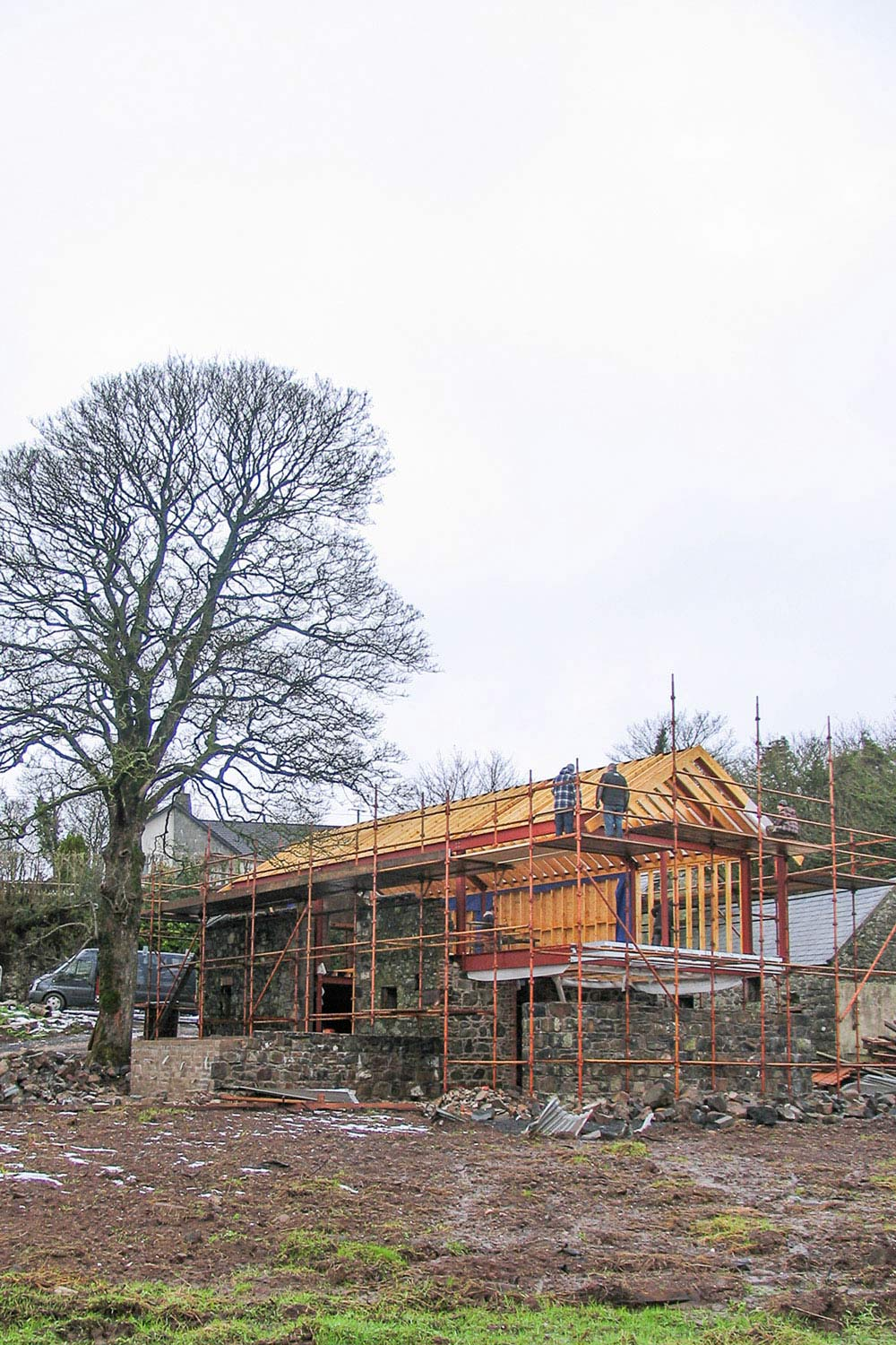 Construction, Barn Conversion in Broughshane, Northern Ireland