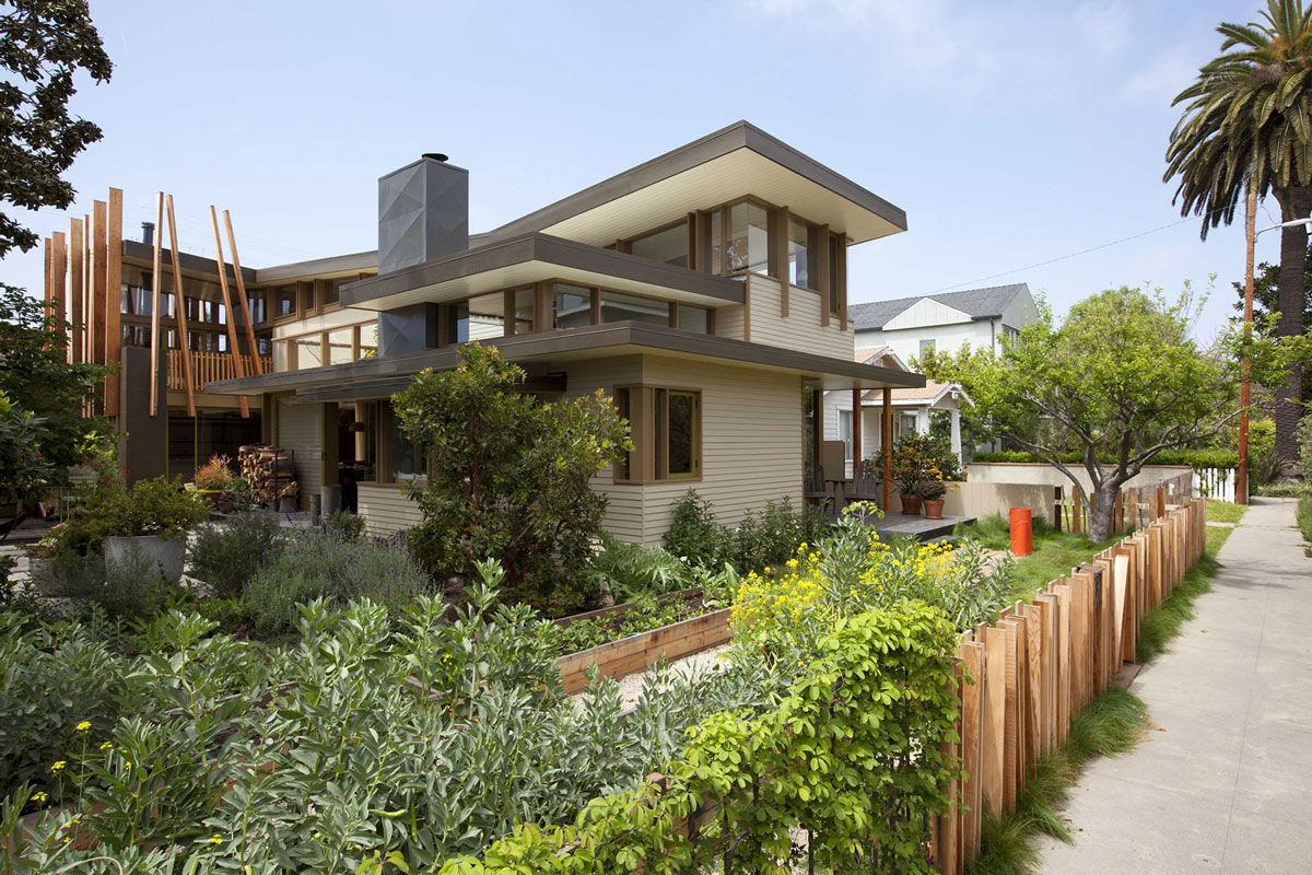 Flowers, Garden, Wonderful Renovation and Addition in Venice, California