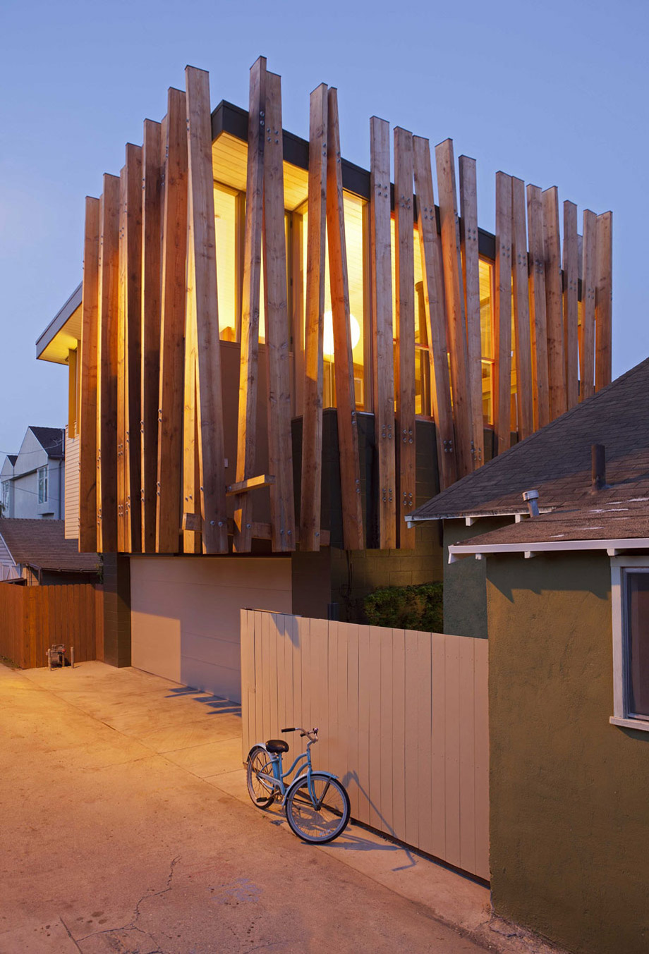 Garage, Wonderful Renovation and Addition in Venice, California