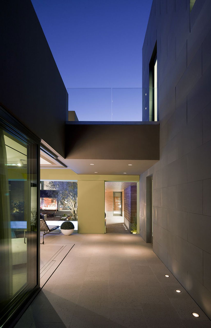 Glass Balustrading, Massive Modern Home in Las Vegas