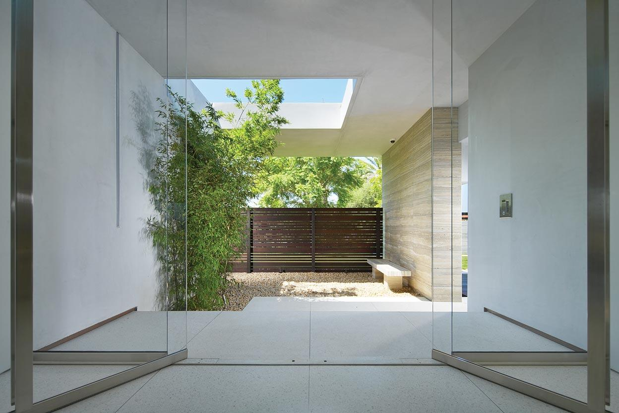 Glass Entrance, Remodel and Addition in Orange County, California