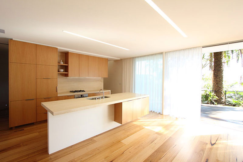 Kitchen Island, Wooden Floors, Extension and Addition in Palm Beach, Sydney