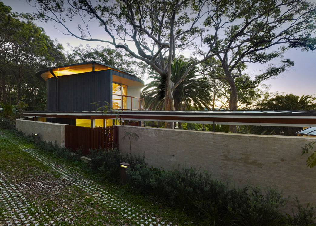 Evening, Lighting, Extension and Addition in Palm Beach, Sydney