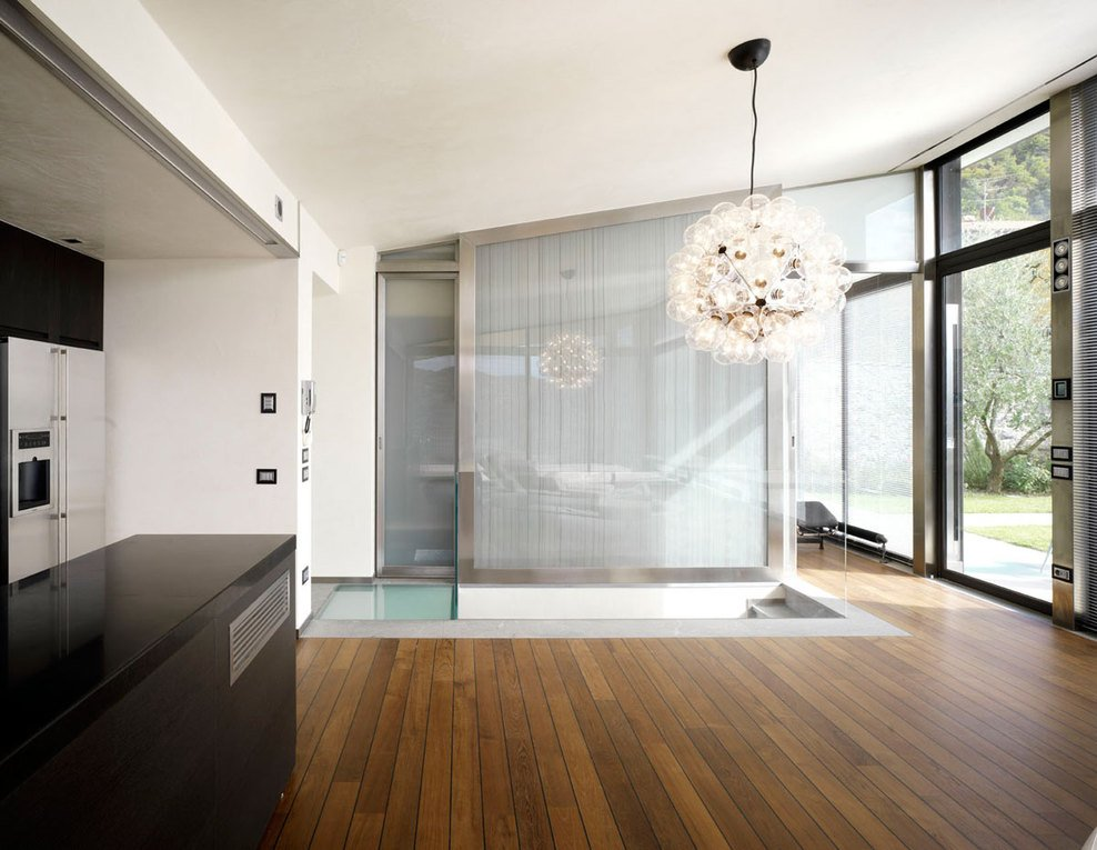 Lighting, Modern Home in Prato, Italy