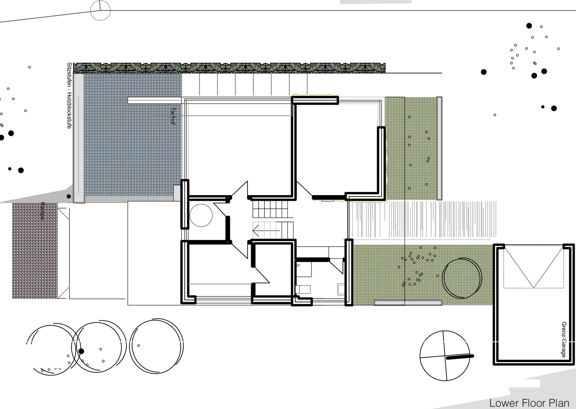 Lower Floor Plan, Home Split Level Home in Aalen, Germany