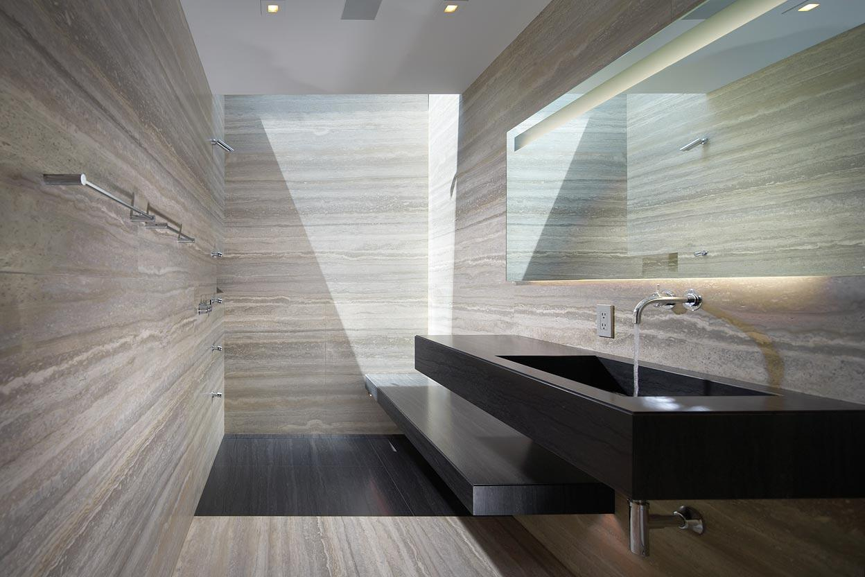 Marble Bathroom, Remodel and Addition in Orange County, California