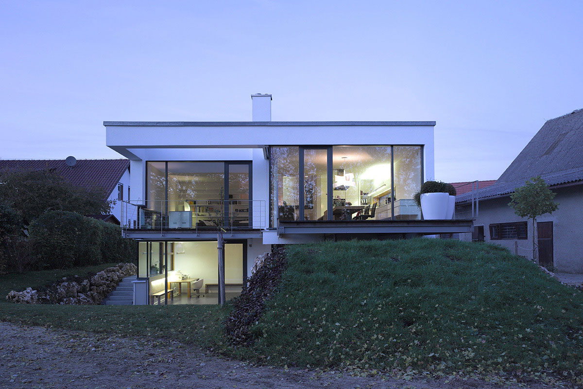 Contemporary Split Level Home In Aalen Germany
