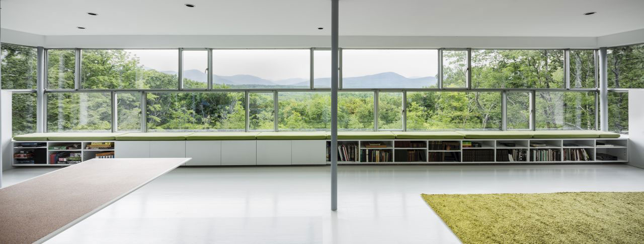 Catskill Mountain Views from the Living Space, Unique Treetop Home in Upstate New York