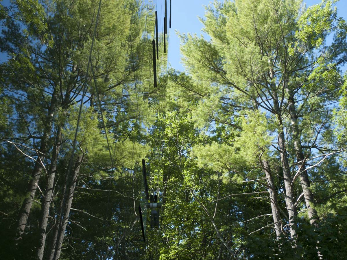 Reflecting Glass, Unique Treetop Home in Upstate New York