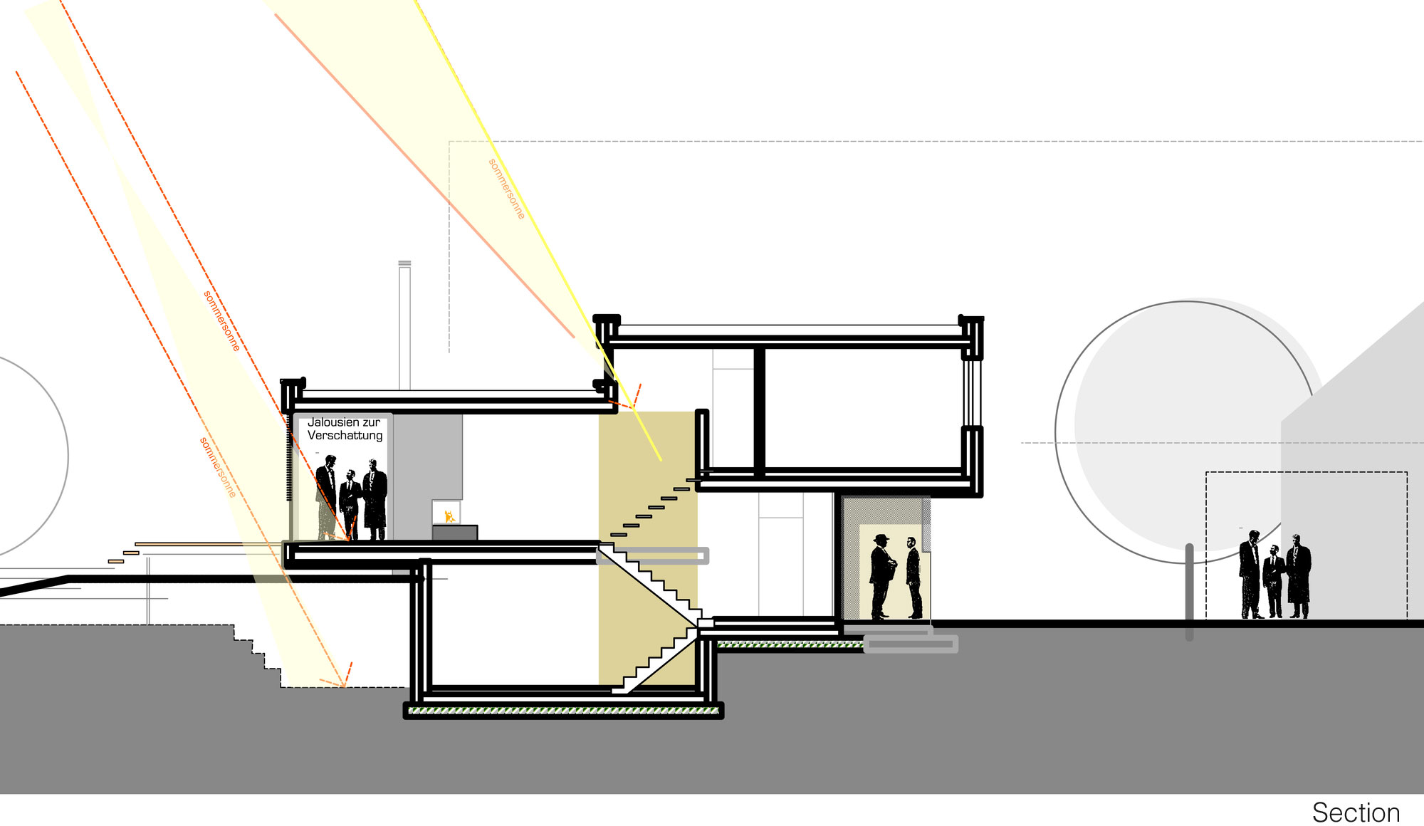 Section, Home Split Level Home in Aalen, Germany