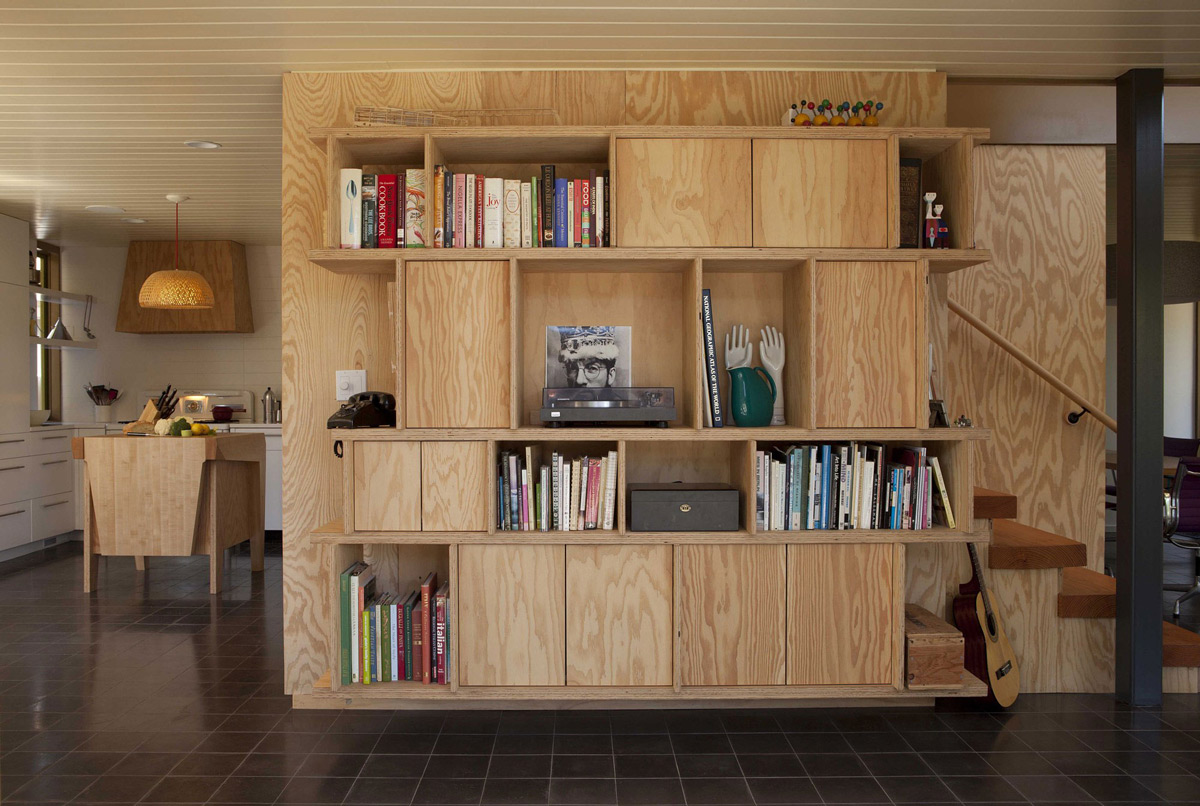Shelves, Cupboards, Wonderful Renovation and Addition in Venice, California