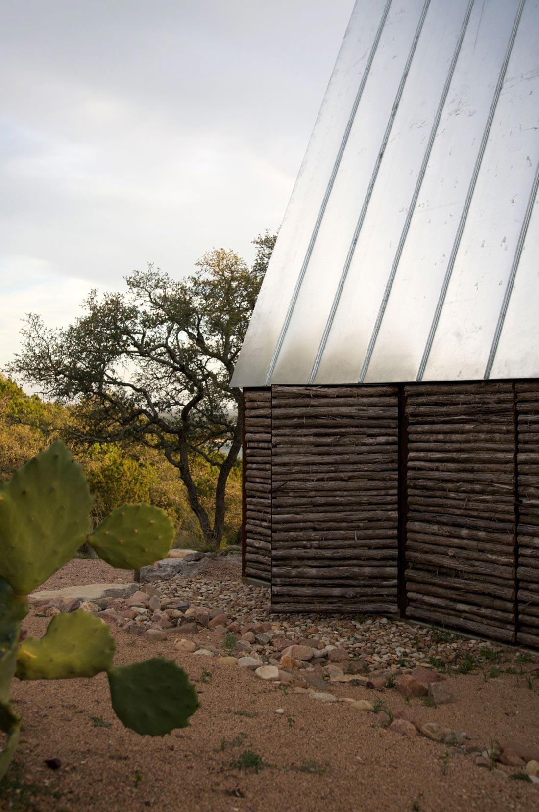 Simple Eco-Friendly Home Perched Above Lake Buchanan, Texas
