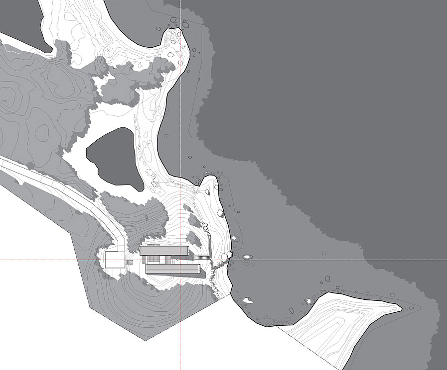 Site Plan, Home in Port Mouton, Nova Scotia