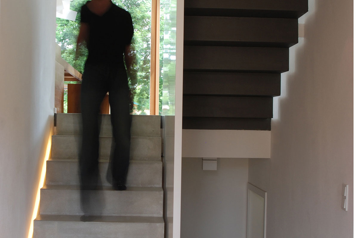 Staircase, Home Split Level Home in Aalen, Germany