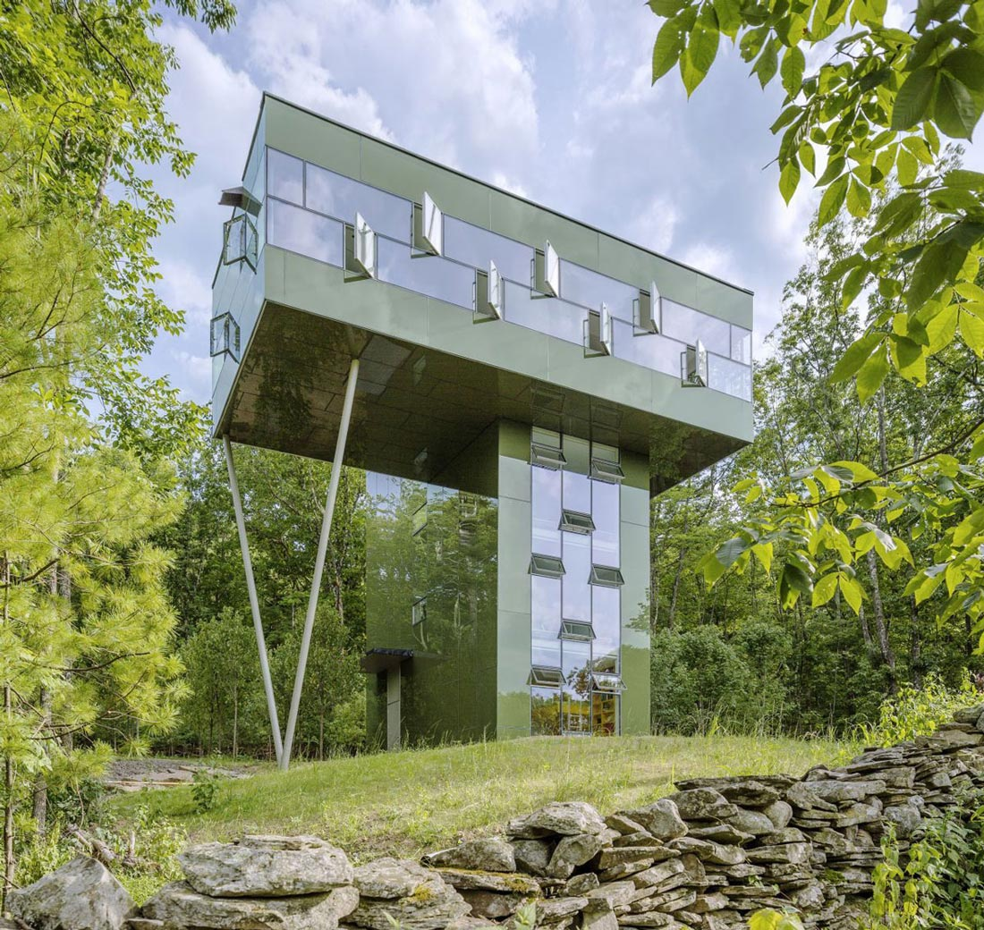 Home Design York Of Unique Treetop Home In Upstate New York