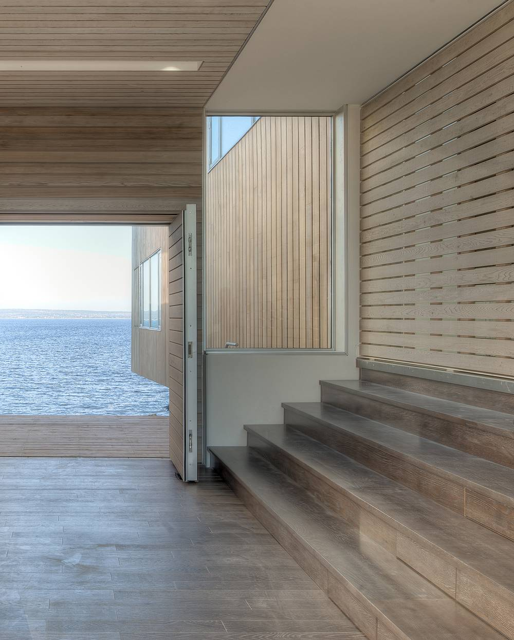 Wooden Flooring, Terrace, Home in Port Mouton, Nova Scotia
